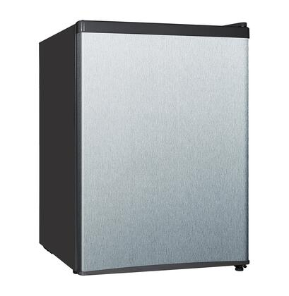 Equator REF87L24SS Compact Refrigerator Stainless Steel, Main Image