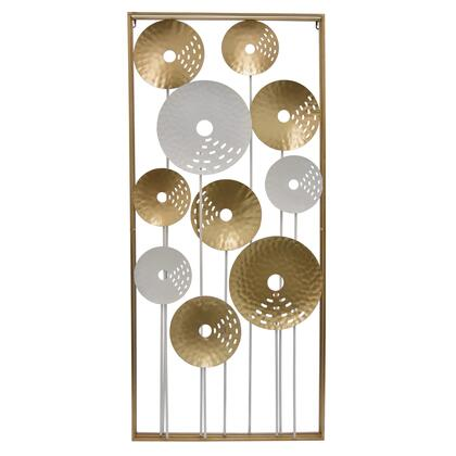Plutus Brands  PBTH92108 Wall Art Gold, PBTH92108