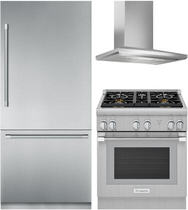 Thermador Freedom 1311294 Kitchen Appliance Package Stainless Steel, main image