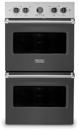 Viking 5 Series VDOE530GG Double Wall Oven Slate, Main Image