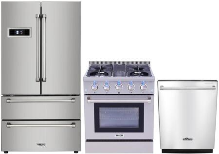 Thor Kitchen  826375 Kitchen Appliance Package Stainless Steel, Main Image