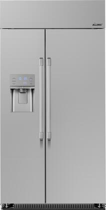 Dacor Professional DYF42SBIWR Side-By-Side Refrigerator Stainless Steel, DYF42SBIWR Side by Side Refrigerator