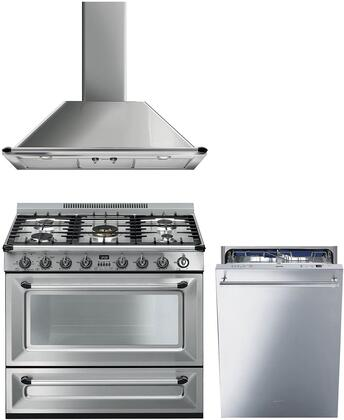 Smeg 1054503 Kitchen Appliance Package & Bundle Stainless Steel, main image