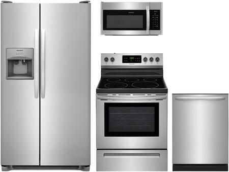 Frigidaire  851413 Kitchen Appliance Package Stainless Steel, Main Image