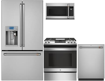 Cafe 1053689 Kitchen Appliance Package & Bundle Stainless Steel, main image