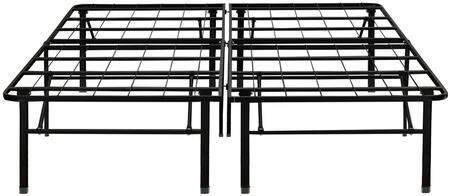 Dream Support  DS18BLACKDB Stationary Bed Frames Black, Main Image