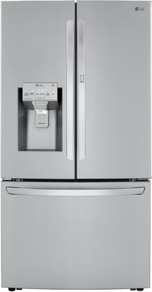 LG  LRFDC2406S French Door Refrigerator Stainless Steel, LRFDC2406S French Door Refrigerator