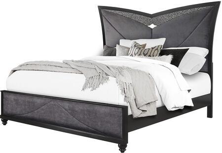 Global Furniture USA Global Furniture USA BEVERLYBLX Bed Black, Beverly Bed 2 (1)