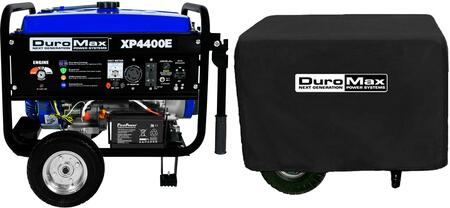 XP4400E 4400 Watt Electric Start Portable Gasoline Generator with XPSGC Weather Resistant