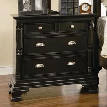 Myco Furniture St. Regis SR8203N Nightstand, 1