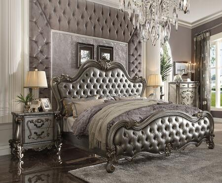 Acme Furniture Versailles Ii 3 Piece King Size Bedroom Set