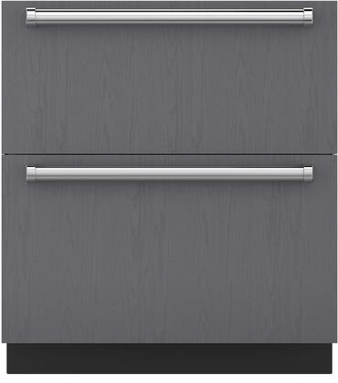 Sub-Zero  ID30FI Drawer Freezer Panel Ready, Main View