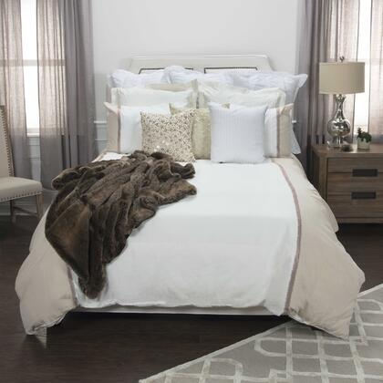 """DFSBT4443IVNT9698 96"""" x 98"""" Duvet in Natural and"""