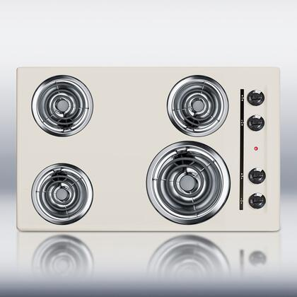 Summit  SEL05 Electric Cooktop Bisque, 1