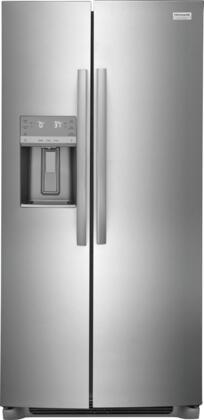 Frigidaire  GRSC2352AF Side-By-Side Refrigerator Stainless Steel, GRSC2352AF Side by Side Refrigerator