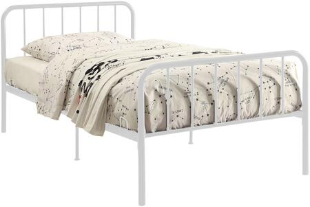 4D Concepts Edge 121442 Bed White, 121442 side