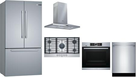 Bosch  1101871 Kitchen Appliance Package Stainless Steel, main image