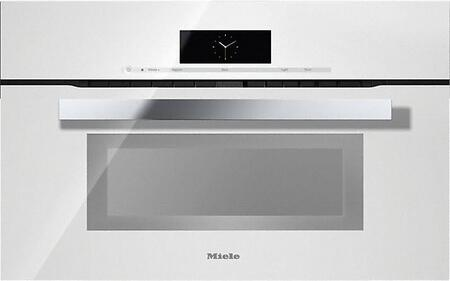 Miele M Touch H6870BMBRWS Single Wall Oven White, Main Image
