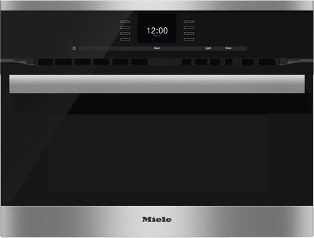 Miele SensorTronic H6600BM Single Wall Oven Black, Main Image