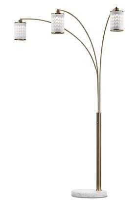 2311078 Flora Three Light Arc Lamp in Weathered