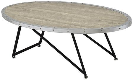 Acme Furniture Allis 81730 Coffee and Cocktail Table White, 1