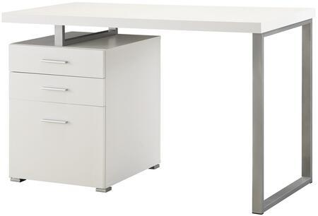 Coaster Hilliard 800325 Office Desk White, 1