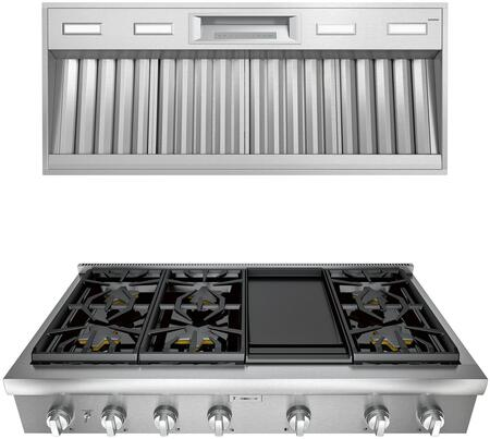 Thermador Professional 1072282 Kitchen Appliance Package Stainless Steel, main image