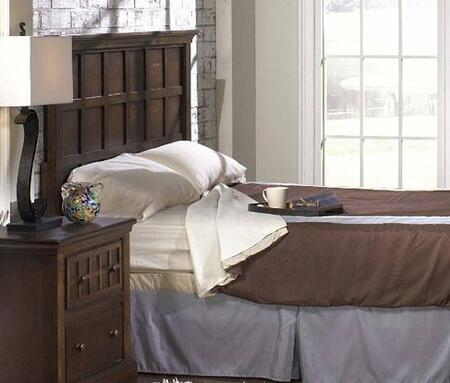 Casual Traditions Collection P107-32 66″ 5/0 Queen Headboard with Simple Splayed Legs in Multi-Step Finish in