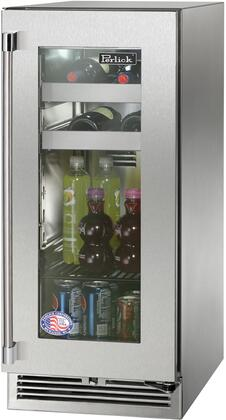 Perlick Signature HP15BS43R Beverage Center Stainless Steel, Main Image