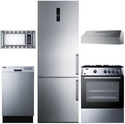 Summit 888135 Kitchen Appliance Package & Bundle Stainless Steel, main image