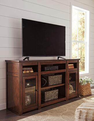 Signature Design by Ashley Harpan W79768 52 in. and Up TV Stand Brown, Main Image