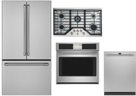 Cafe Matte Collection 1073563 Kitchen Appliance Package Stainless Steel, 18