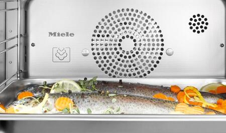 Miele  DGC6X051XL Single Wall Oven Stainless Steel, XL Cavity