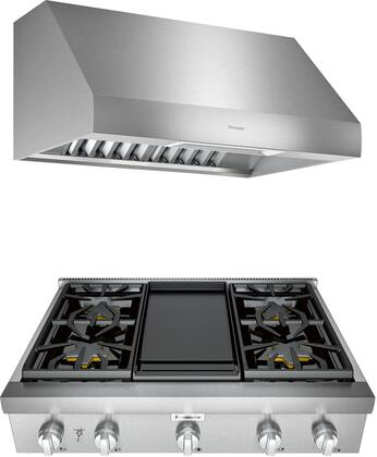 Thermador Professional 1071396 Kitchen Appliance Package Stainless Steel, main image