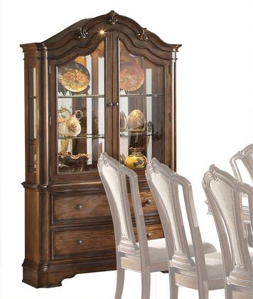 Acme Furniture Valletta 66174 China Cabinet Brown, China Cabinet