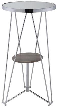 Acme Furniture Jarvis 72577 Bar Table Silver, Bar Table