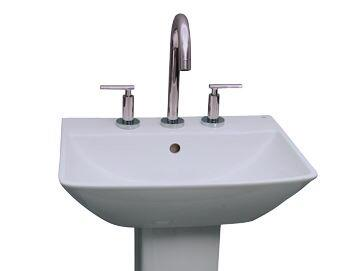 Barclay Summit B3761WH Sink , Faucet Not Included