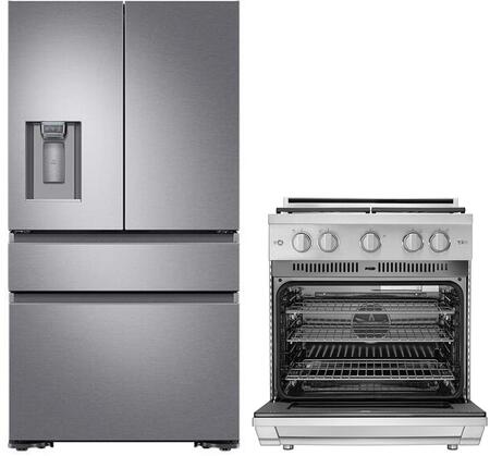 Dacor  1289655 Kitchen Appliance Package Stainless Steel, Main Image