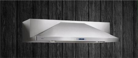 Elica Modena EMD536SS Under Cabinet Hood Gray, Standard View, In Position