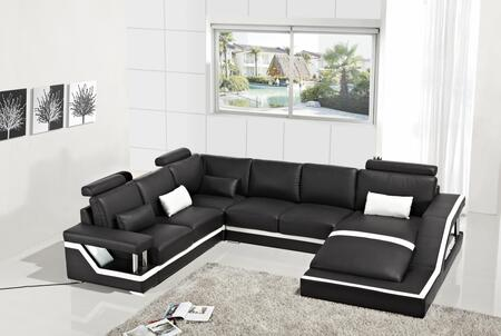 Vig Furniture Divani Casa T271 Collection Vgyit271 130 Inch 4 Piece Bonded Leather Sectional
