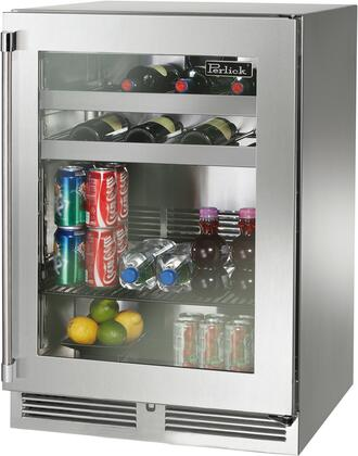 Perlick Signature HP24BS43RL Beverage Center Stainless Steel, Main Image