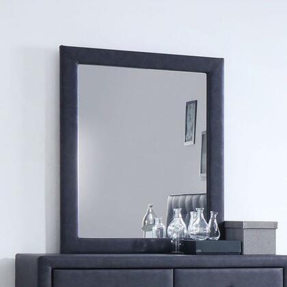 Acme Furniture Saveria 25664 Mirror Gray, Angled View