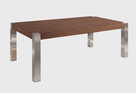 Grako Design  TA2199WAL Coffee and Cocktail Table Brown, Main Image