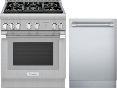 Thermador PRO HARMONY 1311253 Kitchen Appliance Package Stainless Steel, Main image