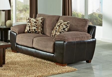 Jackson Furniture Pinson 439802162229116689 Loveseat Brown, Main Image
