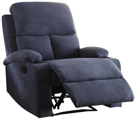Acme Furniture Rosia 59545 Recliner Chair Blue, Recliner