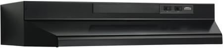 Broan F402423 Under Cabinet Hood Black, Main Image