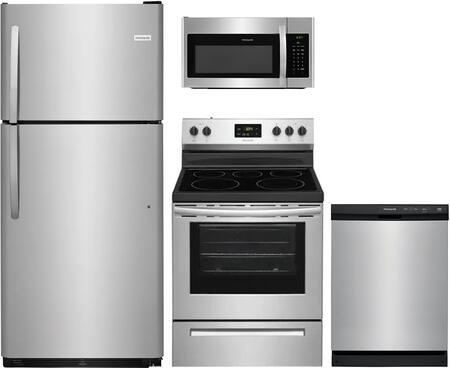 Frigidaire  1135241 Kitchen Appliance Package Stainless Steel, main image
