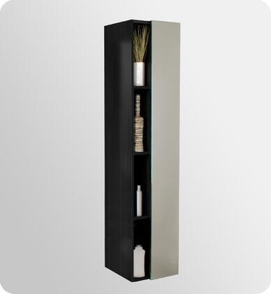 Fresca Senza FST8070BW Linen Tower Black, Dimensions