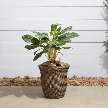 Vifah Ocala V1906 Planters and Flower Shelf Brown, Main Image
